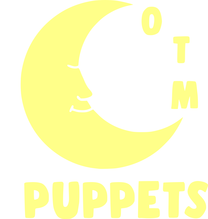 Over The Moon Puppets Logo